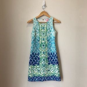 Lilly Pulitzer Perla Scale Back Print Dress